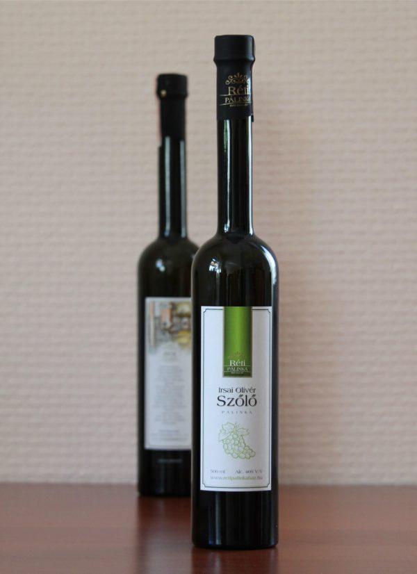 Irsai Olivér szőlőpálinka 500ml