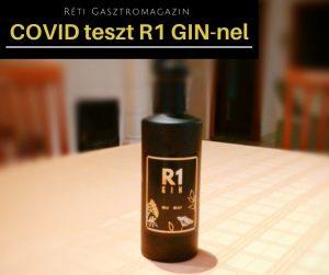 COVID teszt R1 GINnel
