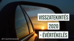 Visszatekintés 2020 Évértékelő