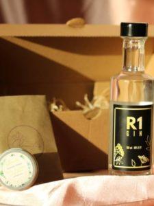 R1 GIN 100ml és krémdezodor 15ml BOX - Réti Pálinka és GIN
