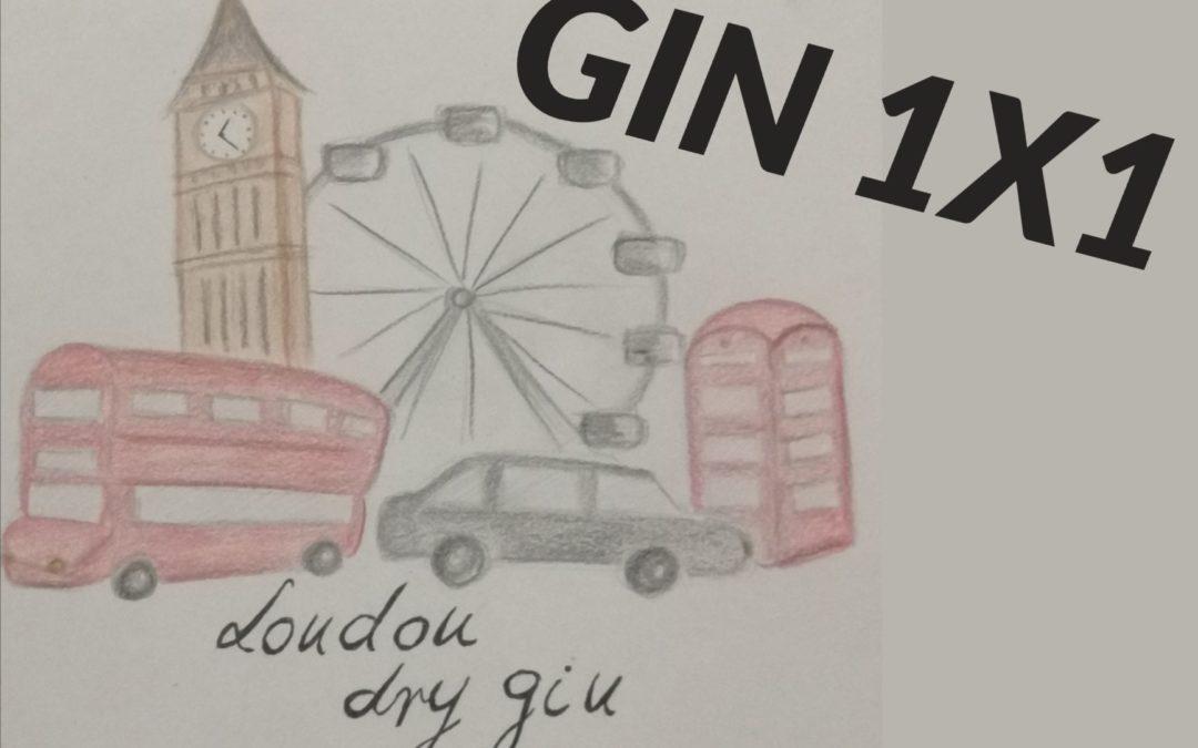 GIN 1X1: London Dry Gin Magyarországon?!