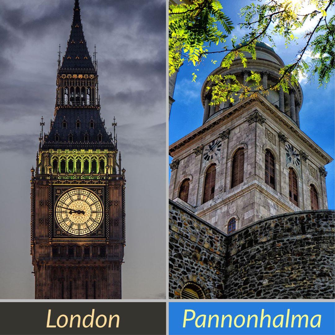 London és Pannonhalma
