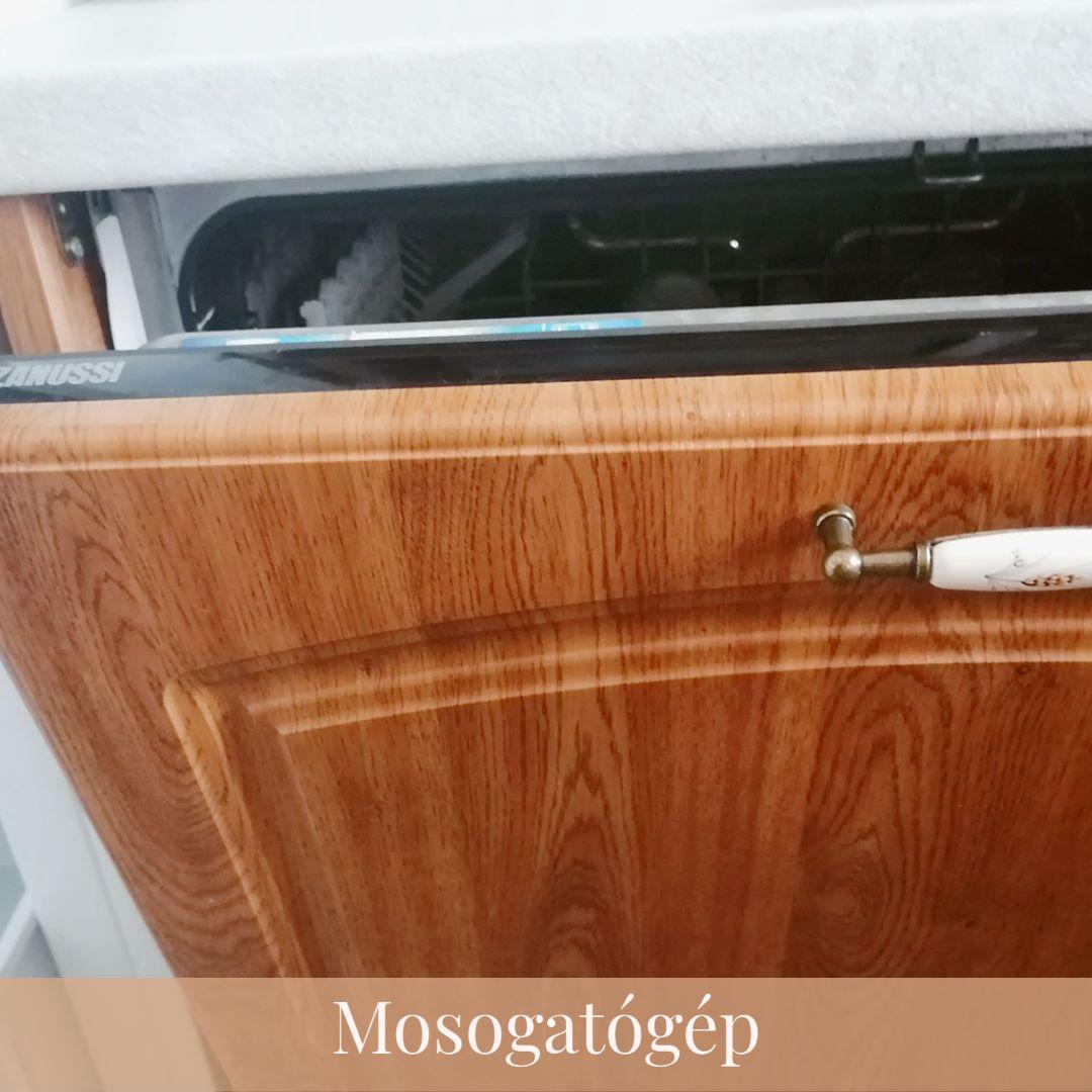 Zanussi mosogatógép a Réti Vendégházban