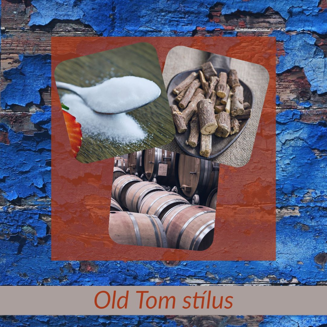 Old Tom gin stílus