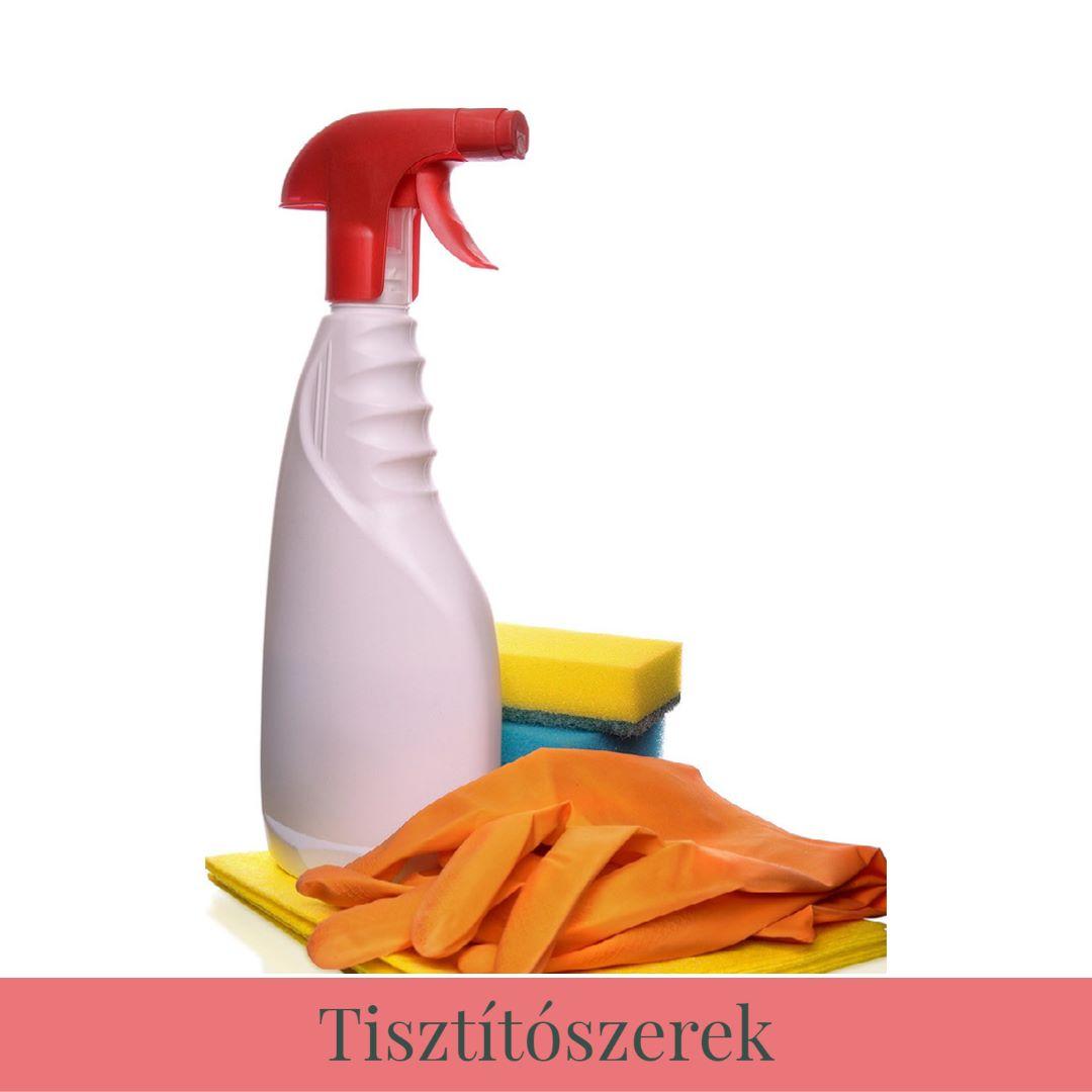 Tisztítószerek a Réti Vendégházban