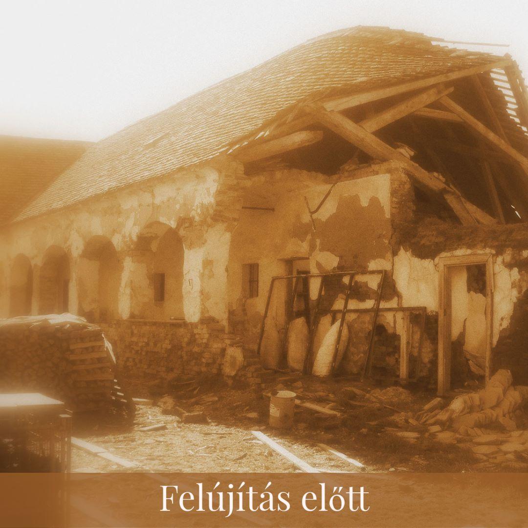 Vendégház felújítás előtt